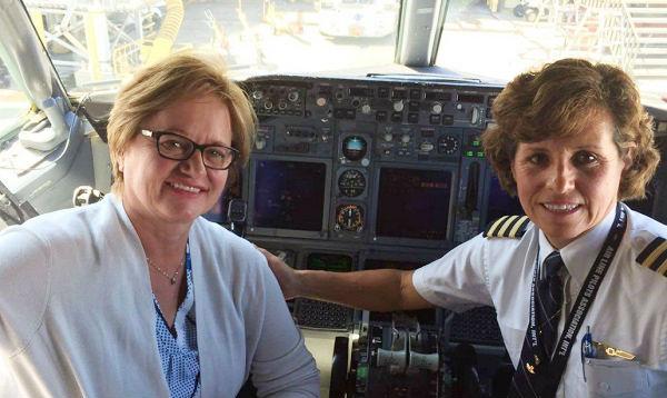 Primera Dama y PPK se encontraron con piloto peruana radicada en EEUU - Noticias de milagro en eeuu