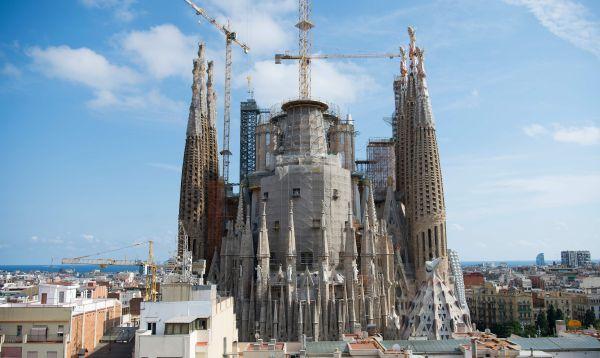 Iglesia Sagrada Familia de Barcelona en su última etapa de construcción - Noticias de españa