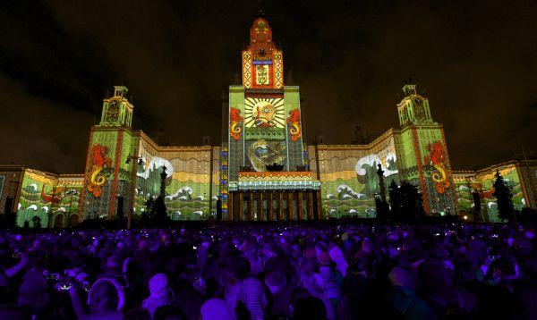Moscú inicia el festival internacional Círculo de Luz con delegaciones de 31 nacionalidades - Noticias de rusia