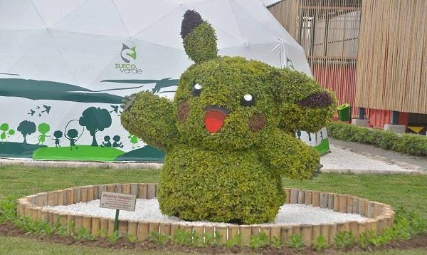 Municipio de Surco instala escultura de Pikachú en parque ecológico - Noticias de parque tematico