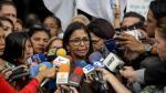 El opositor presidente del Parlamento venezolano es denunciado por traición por el chavismo - Noticias de ministra delcy rodriguez