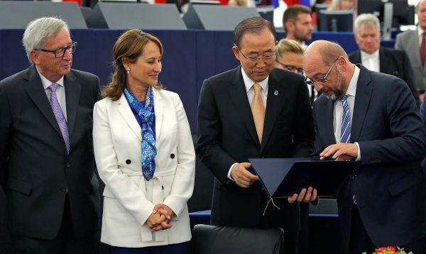 Parlamento Europeo respalda el acuerdo de París sobre el clima - Noticias de economía global
