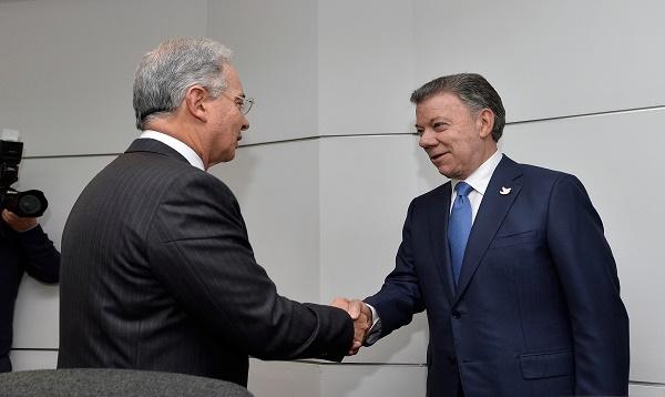 Juan Manuel Santos y Álvaro Uribe se reúnen para consolidar acuerdo de paz - Noticias de juan manuel santos