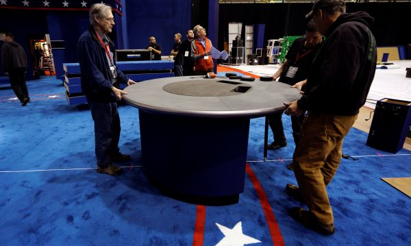 Clinton vs. Trump: alistan segundo debate presidencial este domingo - Noticias de empresas