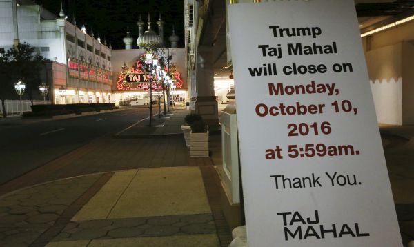 Taj Mahal de Trump cierra tras 26 años y es quinta víctima de crisis de casinos - Noticias de carl icahn