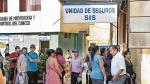 Oposición pide que se revisen convenios suscritos entre SIS y clínicas privadas - Noticias de sebastian cespedes