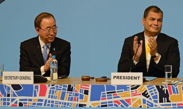 ONU inaugura Conferencia Hábitat III en Ecuador - Noticias de rafael correa