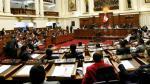 Congreso aprueba ley contra el 'transfugismo' - Noticias de acción de inconstitucionalidad