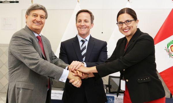 USIL y Municipalidad de Magdalena firmaron convenio de cooperación - Noticias de marcela temple seminario