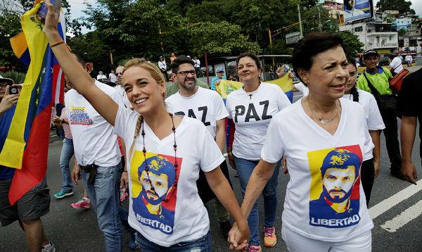 Marcha de mujeres exige en Caracas referendo revocatorio contra Maduro - Noticias de leopoldo lopez