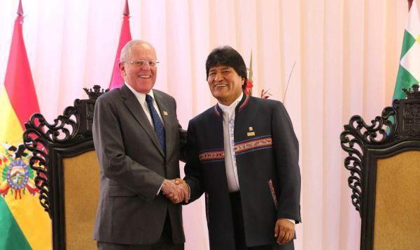 PPK y Evo Morales se reúnen en Bolivia con énfasis en tren bioceánico - Noticias de tren bioceánico