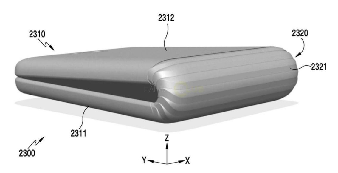 Samsung presenta el diseño del Galaxy X, un teléfono que se dobla