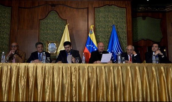 Gobierno y oposición venezolana suscriben acuerdo para vivir en paz - Noticias de carlos ocariz