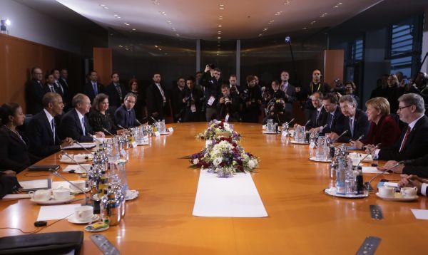 Barack Obama se reúne con Ángela Merkel en Alemania - Noticias de economía global