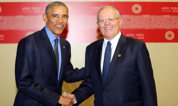 PPK da la bienvenida a Obama al llegar a Lima para el foro APEC - Noticias de  ppk