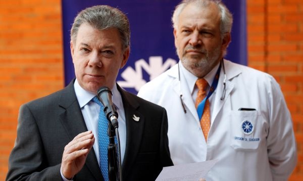 Presidente colombiano descarta metástasis y tumor tras exámenes - Noticias de universidad johns hopkins