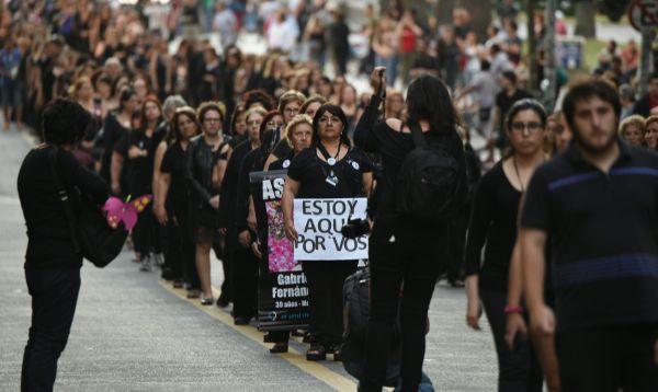 Marchas en América Latina contra los feminicidios y la violencia machista - Noticias de mujer peruana