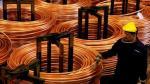 Cobre cae y zinc toca nivel más alto en más de ocho años y medio por compras de fondos - Noticias de bolsa de metales de londres