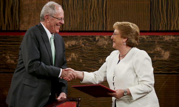 """Perú y Chile """"superan pleitos"""" y reactivan mecanismos de integración política - Noticias de  ppk"""
