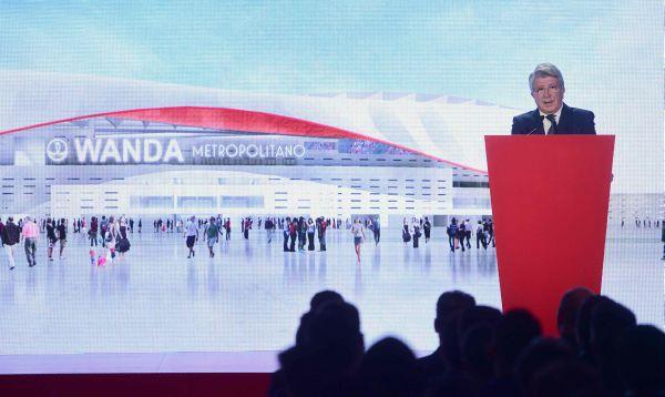 Nuevo estadio del Atlético de Madrid se llamará Wanda Metropolitano - Noticias de madrid enrique cerezo