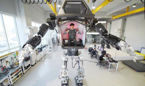 Corea del Sur crea robot gigante tripulado por un humano - Noticias de inversión