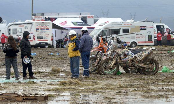 Temporal obliga a suspender 6ta etapa del Dakar en Bolivia - Noticias de marc coma
