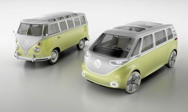 Volkswagen apela a su pasado hippie con Combi eléctrica - Noticias de herbert diess