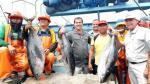 Barco atunero de Ecuador descarga en Estación Naval de Paita - Noticias de importaciones peruanas