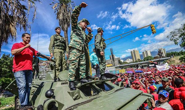"""Venezuela muestra su poderío militar contra el """"imperialismo"""" - Noticias de vladimir padrino"""