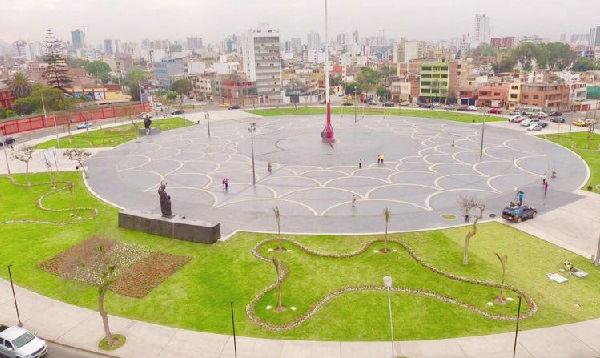 Municipalidad de Lima genera polémica tras remodelar Plaza de la Bandera - Noticias de cercado de lima