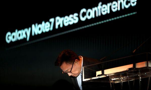 Samsung se disculpa por fallos del Galaxy Note 7 a raíz de baterías defectuosas - Noticias de empresas