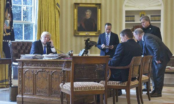 Trump llamó por teléfono a Vladimir Putin - Noticias de vladimir putin