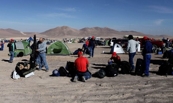 Inicia en Chile huelga en mayor mina privada de cobre del mundo - Noticias de santiago rojas