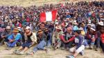 Decenas de manifestantes bloquean vía alterna de acceso a mina Las Bambas - Noticias de minmetals
