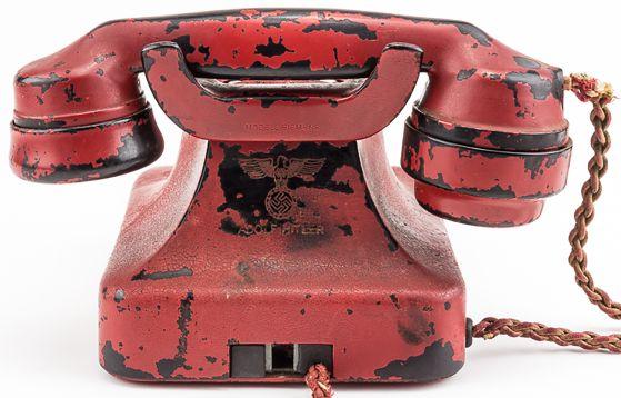 """El """"teléfono de la destrucción"""" de Hitler vendido en US$ 243,000 - Noticias de tercer reich"""